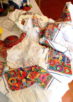 women's clothes in Mexico.