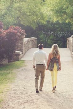 Engagement photo session at Freedom Park in Charlotte, NC - copyright Carolina Green Photography