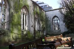 st dunstan in the east - Google Search