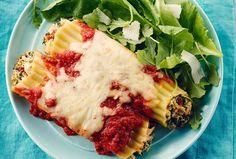 Recipes - Chicken and Smoked Mozzarella Manicotti » Chicken.ca