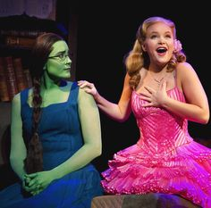 Elphaba And Glinda Popular Wicked The Musical  sc 1 st  Pinterest & Wicked: Show Photos | Wicked | Pinterest | Wicked Kara and Broadway