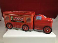 2003 Coke Coca Cola Tin Semi Truck with Wheels | eBay