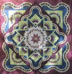 Canton Village Quilt Works: Workshops, Glacier Star