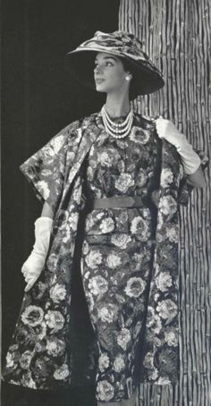 1956 - Christian Dior dress