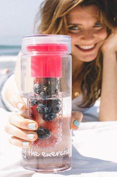 Fruitwater: de beste combi's om je water te pimpen