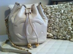1980's Chanel Bucket Bag