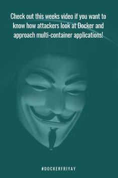 An Attacker Looks at Docker: Approaching Multi-Container Applications Opportunity, Perspective, Container, Watch, Awesome, Happy, Youtube, Perspective Photography, Bracelet Watch