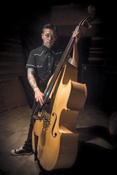 Rockabilly Duo Kontrabass Pick-up Orchestral Upright Basses