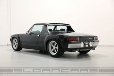 1970 914-6 GT tribute Black/Black | Sloancars. (Click on photo for high-res. image.) Photo found here: http://sloancars.com/4813/1970-914-6-gt-tribute-blackblack/