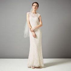 Phase Eight Antique genevieve wedding dress- at Debenhams.com