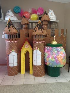 My daughters candyland castle