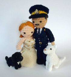 The 12 Best #Crochet Cake Toppers for your #wedding cake