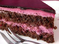 Schoko-Holunder-Torte