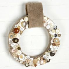 Button Up Wreath