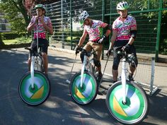 Bike polo played on Smart Electric Bikes!