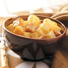 Au Gratin Potatoes and Ham Recipe