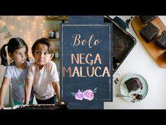 BOLO NEGA MALUCA (Bolo de Chocolate) - Especial dia das Crianças - YouTube