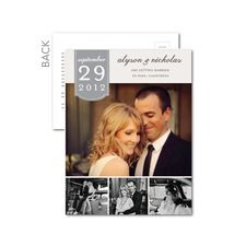 Great website for inexpensive Save the Dates & Invitations. Also offers free wedding website to match your stationery!