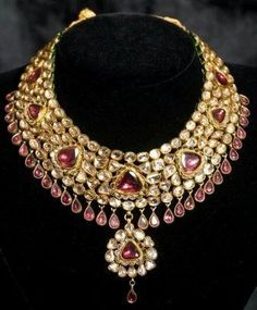 Indian Kundan Polki Jewellery | Wedding Kundan polki earring necklace jewellery sets