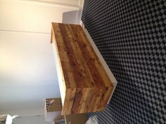 Our reclaimed wood front desk by New Found Design was just installed! Awesome. Thanks Eddie!