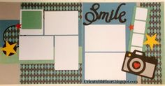 Happy New Year! Today I want to share an easy layout made with CTMH newest cricut cartridge-Artbooking. This cartridge is amazing and a m...