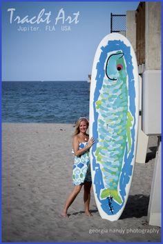 paddle board art