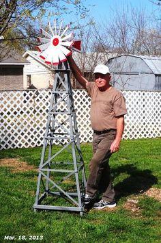 Bob did a great job with his farm windmill project!