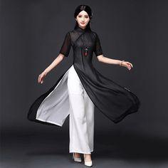 628303f44e 2017 lato wietnam ao dai chiński tradycyjny strój chiński sukienka qipao  długi chiński cheongsam sukienka szata