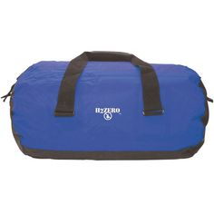 The Seattle H2Zero Hydro Mule Roll Duffel is a budget duffel bag. This wide-mouth roll duffel features a heavy-duty tarp-style bottom and ends, seams are radio frequency (RF) welded to a polyester body
