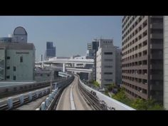 バーチャル ゆりかもめ・東京|073|後方ーBack View|Virtual Yurikamome Tokyo - cheritube - YouTube