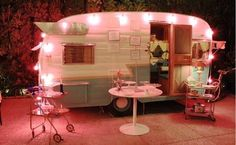 Vintage shabby camping!