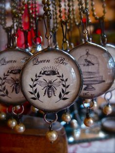 These are awesome pendants! If only I were this crafty.