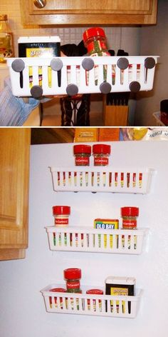 23 Tiny kitchen storage hacks