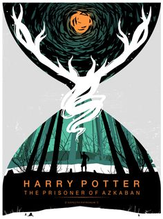 Glorious Harry Potter posters by Stephanie Shafer
