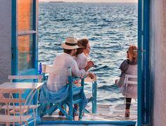 Mykonos Greece Little Venice - Yoga Escapes  www.yoga-escapes.com