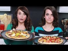 Make your own surprise pizzas with Ro and Mo. #nerdynummies