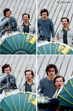 harry and louis<<< they both really need haircuts lol