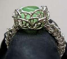 chainmail jewellery patterns - Google Search