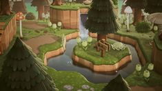 Animal Crossing Wild World, Animal Crossing Guide, Animal Crossing Villagers, Animal Crossing Pocket Camp, Ac New Leaf, Island Theme, Horror Themes, Nintendo, Motifs Animal