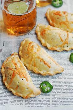 Artichoke, Jalapeno, and Bacon Hand Pies
