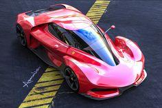 Ferrari Berlinetta, Lamborghini Concept, Design Digital, Sand Rail, Man Illustration, Roadster, Futuristic Cars, Car Sketch, Photoshop