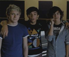 Tumblr (one direction,niall horan,louis tomlinson,harry styles,cute)