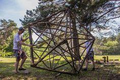 """III Сибирский эко-фестиваль креативной деревянной архитектуры илэнд-арта """"Ёлки палки"""""""