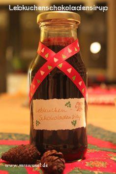 Lebkuchen-Schokoladen-Sirup