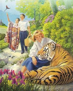 Paradise.......The Garden of Eden .......GENESIS 1: 8 - Jehovah God planted a garden in Eden, toward the east; and there he put the man whom he had formed.    - GENESIS 1: 15...Jehovah God took the man and settled him in the garden of Eden to cultivate it and to take care of it.