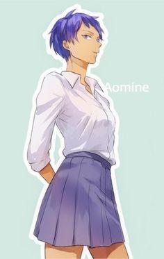 Kuroko no Basket | Genderbend | fem!Aomine