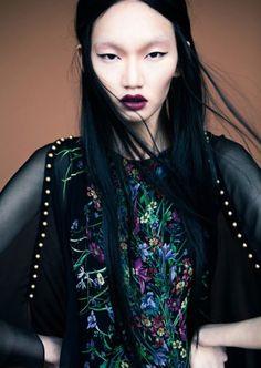Ran Cheng, notre mannequin coup de coeur de cette 25ème Semaine Mode Montréal #SMM