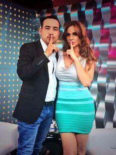 Joselyn Juncal en Secreto a Voces de Bandamax con Germán Montero