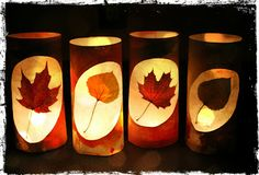 Fairy Dust Teaching Kindergarten Blog: Leaf Lanterns Tutorial