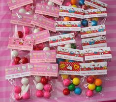 a37733f7014a Favors at a Hello Kitty Party  hellokitty  partyfavors Hello Kitty Theme  Party
